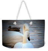 Romance Of The White Swans Weekender Tote Bag