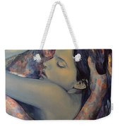 Romance With A Chimera Weekender Tote Bag by Dorina  Costras