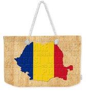 Romania Weekender Tote Bag