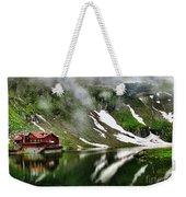 Romanian Glacier Lake Weekender Tote Bag