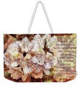 Romans 12 1 Weekender Tote Bag