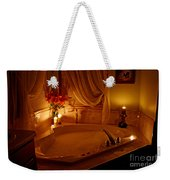 Romantic Bubble Bath Weekender Tote Bag by Kay Novy