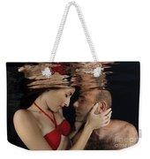 Romantic Couple Underwater Weekender Tote Bag