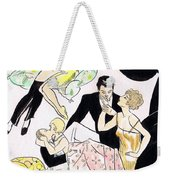 Romantic Couples Weekender Tote Bag