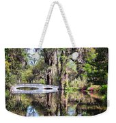 Romantic Garden Weekender Tote Bag