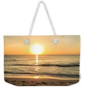 Romantic Ocean Swim At Sunrise Weekender Tote Bag