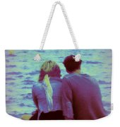 Romantic Seaside Moment Weekender Tote Bag