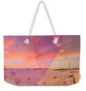 Romantic Sunset Weekender Tote Bag by Augusta Stylianou