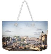 Rome Cityscape Weekender Tote Bag