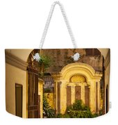 Rome Entry Weekender Tote Bag