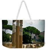 Rome Italy Poster Weekender Tote Bag
