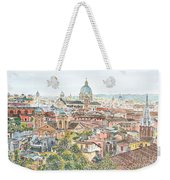 Rome Overview From The Borghese Gardens Weekender Tote Bag by Anthony Butera