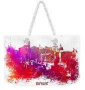Rome Skyline Weekender Tote Bag