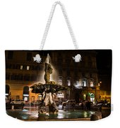 Rome's Fabulous Fountains - Fontana Del Tritone Weekender Tote Bag