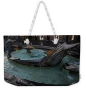 Rome's Fabulous Fountains - Fontana Della Barcaccia - Spanish Steps  Weekender Tote Bag