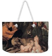 Romulus And Remus Weekender Tote Bag