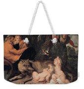 Romulus And Remus Weekender Tote Bag