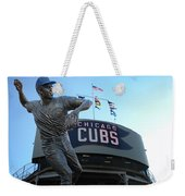 Ron Santo Chicago Cubs Statue Weekender Tote Bag