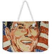 Ronald Wilson Reagan Mosaic Weekender Tote Bag