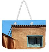 Roof Corner With Ladder And Window Weekender Tote Bag
