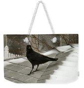 Roof Crow Weekender Tote Bag