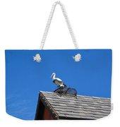 Roof Top Bird Weekender Tote Bag
