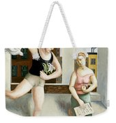 Rooftop Annunciation Two Weekender Tote Bag