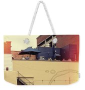 Rooftop Lunch Weekender Tote Bag
