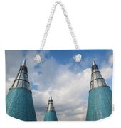 Rooftop Towers At Museum Of Technology Weekender Tote Bag