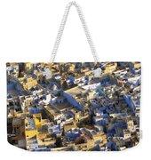 Rooftops In India Weekender Tote Bag