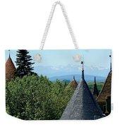 Rooftops Of Carcassonne Weekender Tote Bag