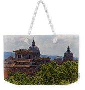 Rooftops Of Rome Weekender Tote Bag