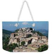 Rooftops Of The Italian City Weekender Tote Bag