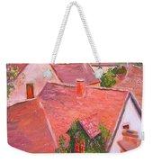 Rooftops Trogir Croatia Weekender Tote Bag