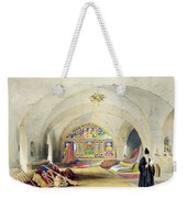 Room In An Armenian Convent Weekender Tote Bag by A. Margaretta Burr