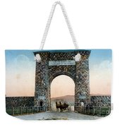 Roosevelt Arch Yellowstone Np Weekender Tote Bag