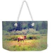 Roosevelt Bull Elk Weekender Tote Bag