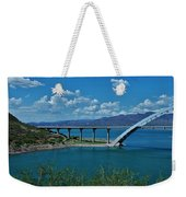 Roosevelt Lake 3 - Arizona Weekender Tote Bag