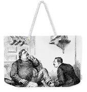 Roosevelt-taft Cartoon Weekender Tote Bag