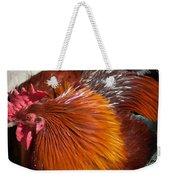 Rooster Colors Weekender Tote Bag