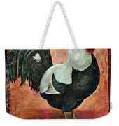 Rooster Fresco Weekender Tote Bag