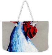 Rooster Head Weekender Tote Bag