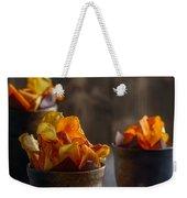 Root Vegetable Crisps Weekender Tote Bag