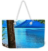 Rooted In Lake Minnewanka Weekender Tote Bag