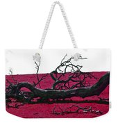 Rooted In Red Weekender Tote Bag