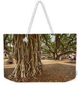 Roots - Banyan Tree Park In Maui Weekender Tote Bag