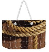 Rope And Net Weekender Tote Bag