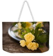 Rosa Banksiae Lutea Weekender Tote Bag