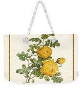 Rosa Sulfurea -yellow Rose  Square Weekender Tote Bag