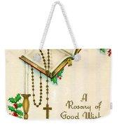 Rosary Good Wishes Weekender Tote Bag